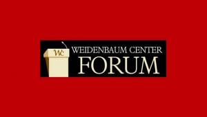 Weidenbaum Center Sept 1 Forum featuring Professor Itai Sened from Israel
