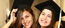 טקס חלוקת תעודות בוגר אוניברסיטה