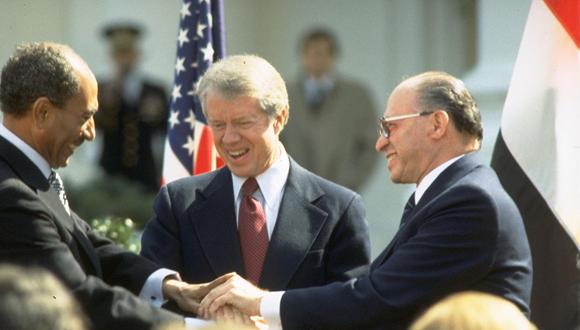 40 שנה להסכם השלום עם מצרים - עיון במבחן הזמן. מקור: ויקפדיה